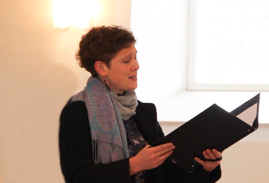 Sängerin für die Taufe Tübingen